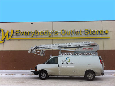 Chris Signs - Large Building Signs